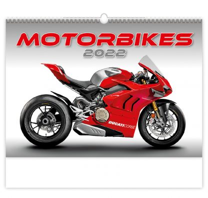 Bildkalender Motorbikes 2022